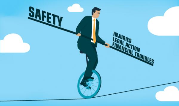 Safety return on investment, safety vs lawsuits